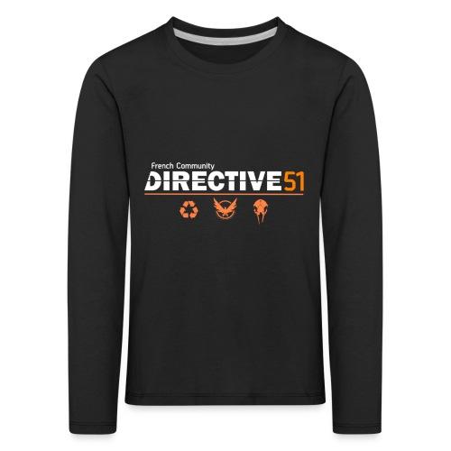 D51recy png - T-shirt manches longues Premium Enfant