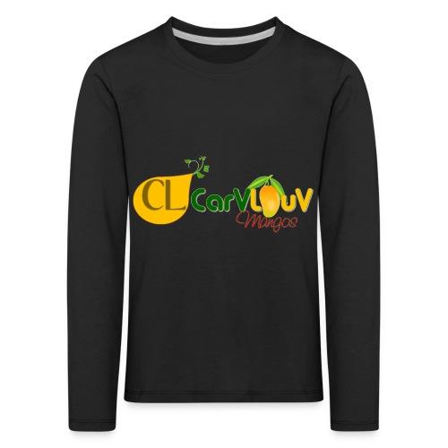 CarVlouV - Camiseta de manga larga premium niño