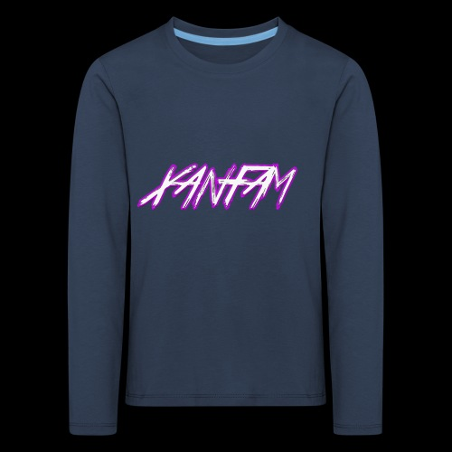 XANFAM (FREE LOGO) - Kinder Premium Langarmshirt