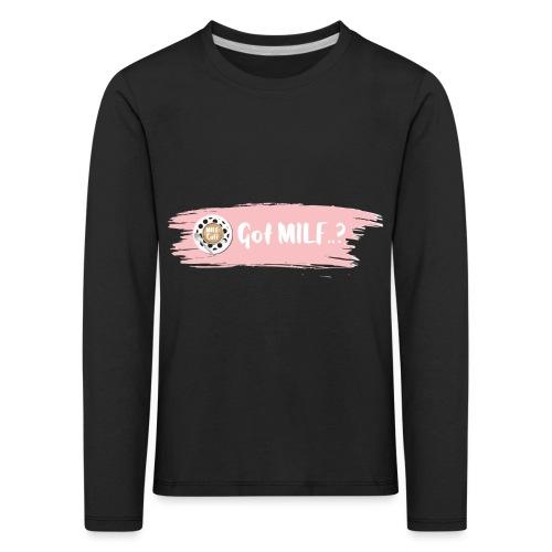 Got MILF Milfcafe Shirt Mama Muttertag - Kinder Premium Langarmshirt