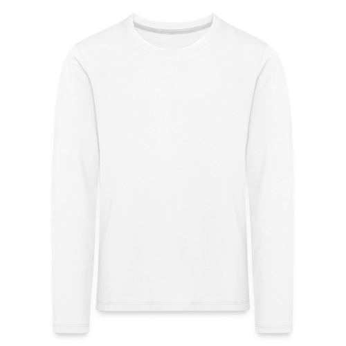 happily disappointed white - Kids' Premium Longsleeve Shirt