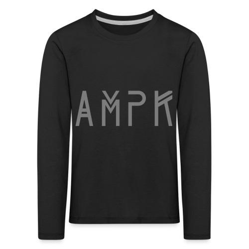 AMPKTechDarkGrey - Kinder Premium Langarmshirt