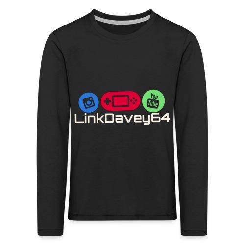LinkDavey64 - Kinderen Premium shirt met lange mouwen
