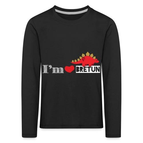 IM CORAZON BRETUN - Camiseta de manga larga premium niño