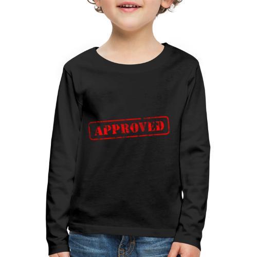 APPROVED - T-shirt manches longues Premium Enfant