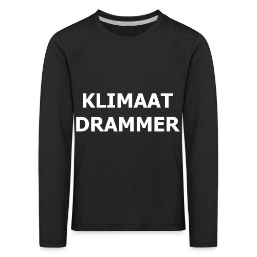 Klimaat Drammer - Kids' Premium Longsleeve Shirt
