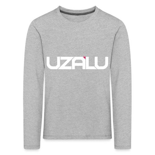 uzalu Text Logo - Kids' Premium Longsleeve Shirt