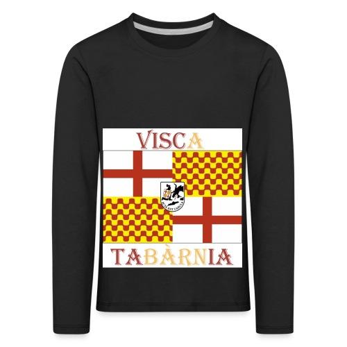 Bandera Visc a Tabarnia - Camiseta de manga larga premium niño