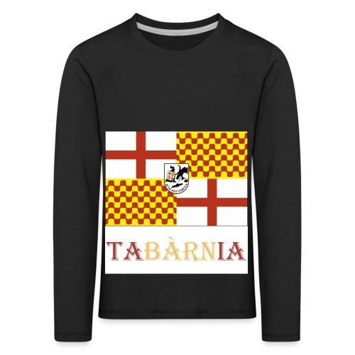 Bandera Tabarnia con escudo y nombre - Camiseta de manga larga premium niño