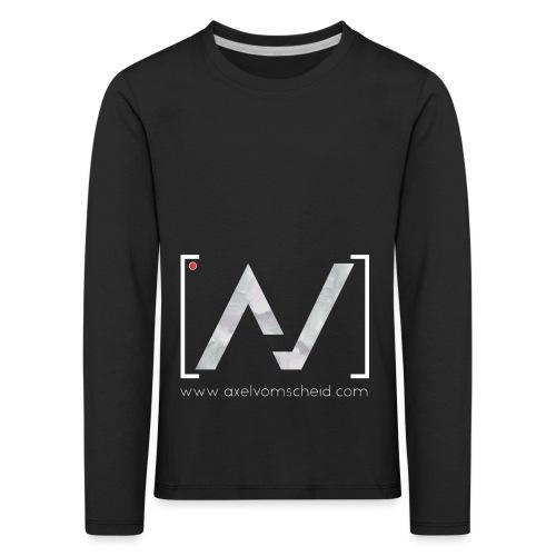 logoalpha blanc - T-shirt manches longues Premium Enfant