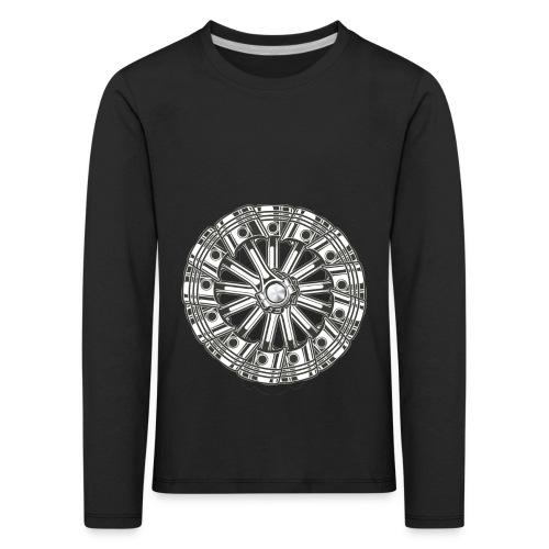 zuiger rol - Kinderen Premium shirt met lange mouwen