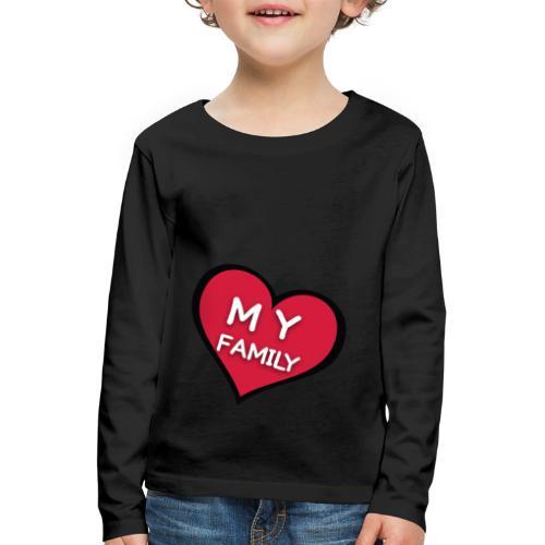 My Family - T-shirt manches longues Premium Enfant