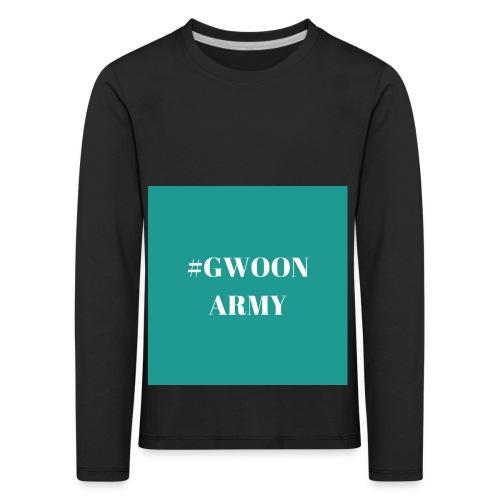 #gwoonarmy - Kinderen Premium shirt met lange mouwen