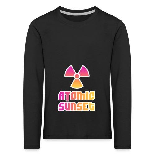 ATOMIC SUNSET - T-shirt manches longues Premium Enfant