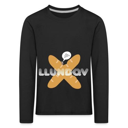 JEG ELSKER BAGUETTE! - Børne premium T-shirt med lange ærmer