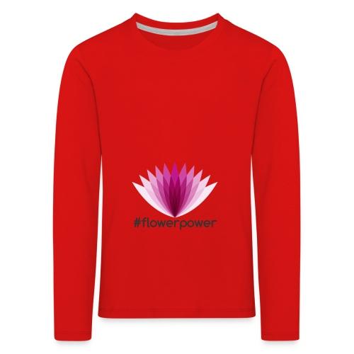 #flowerpower - Kids' Premium Longsleeve Shirt