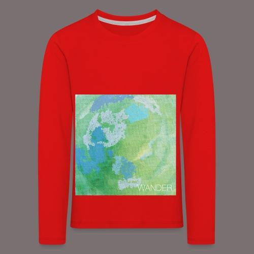 Wander - Kinder Premium Langarmshirt