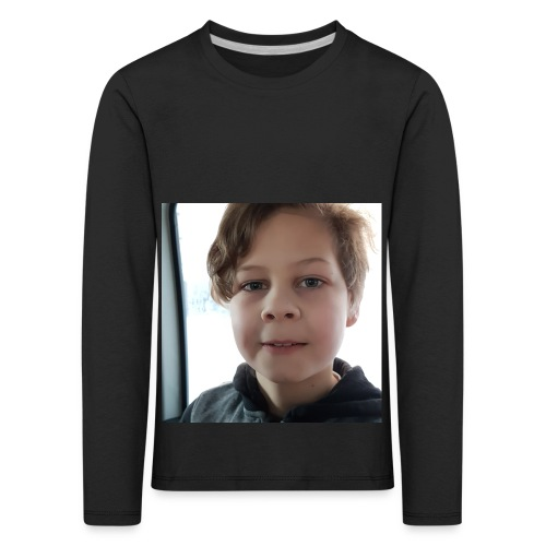 Mestarin vivahdus! - Lasten premium pitkähihainen t-paita