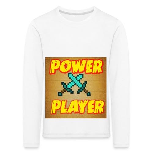 NUOVA LINEA POWER PLAYER - Maglietta Premium a manica lunga per bambini