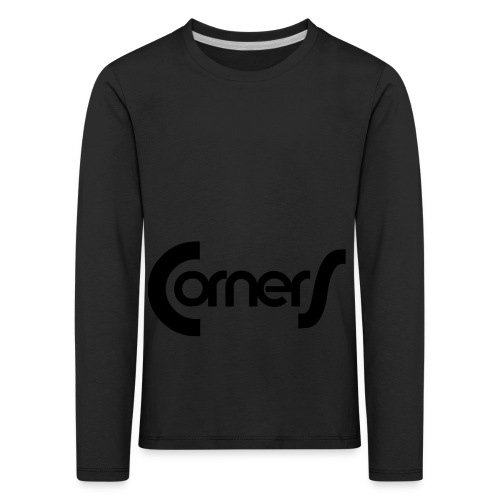cornerlogos - Børne premium T-shirt med lange ærmer