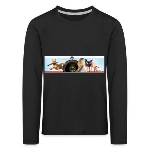 Animaux logo - Kinderen Premium shirt met lange mouwen