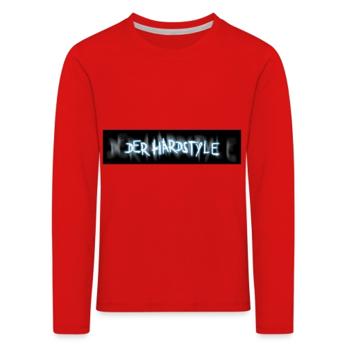 DerHardstyle ONE - Kinder Premium Langarmshirt