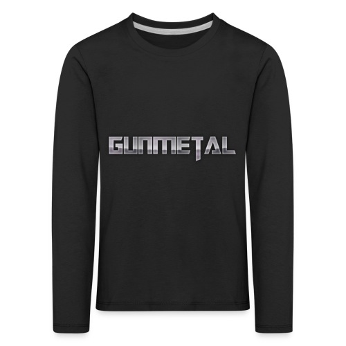 Gunmetal - Kids' Premium Longsleeve Shirt