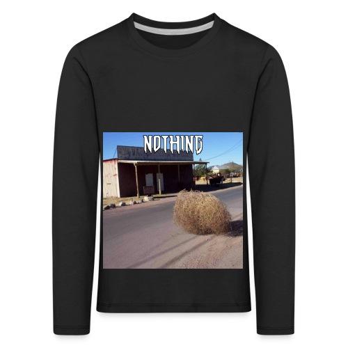 NOTHING - T-shirt manches longues Premium Enfant