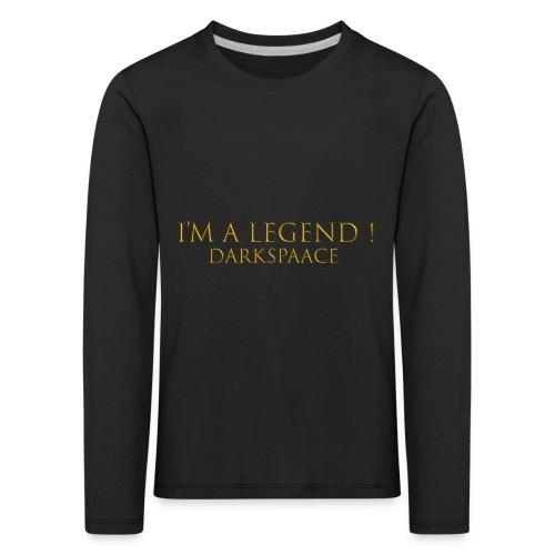 Habits & Accésoire - DarkSpaace I'm A LEGEND - T-shirt manches longues Premium Enfant