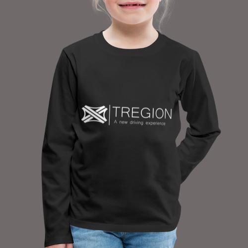 Tregion Logo wide - Kids' Premium Longsleeve Shirt