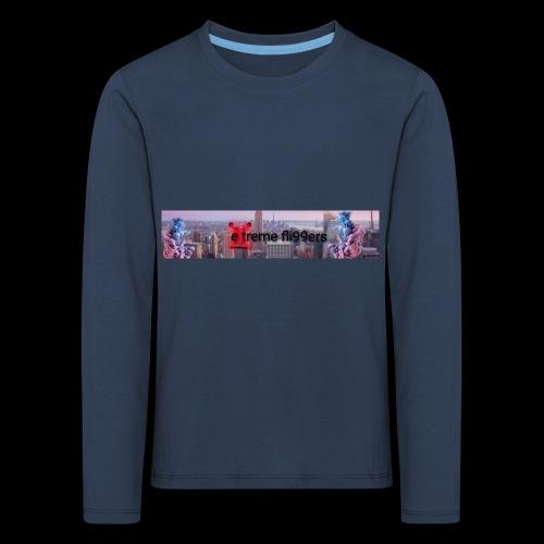 eXtreme fli99ers tryck på en tröja. - Långärmad premium-T-shirt barn