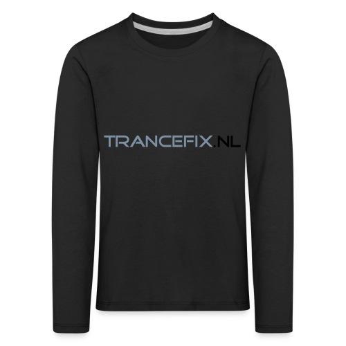 trancefix text - Kids' Premium Longsleeve Shirt