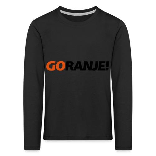 Go Ranje - Goranje - 2 kleuren - Kinderen Premium shirt met lange mouwen