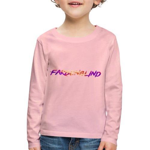 Farbenblind - Kinder Premium Langarmshirt