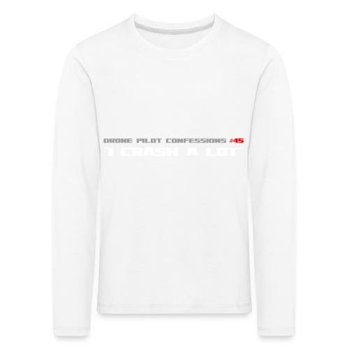 I CRASH A LOT - Kids' Premium Longsleeve Shirt