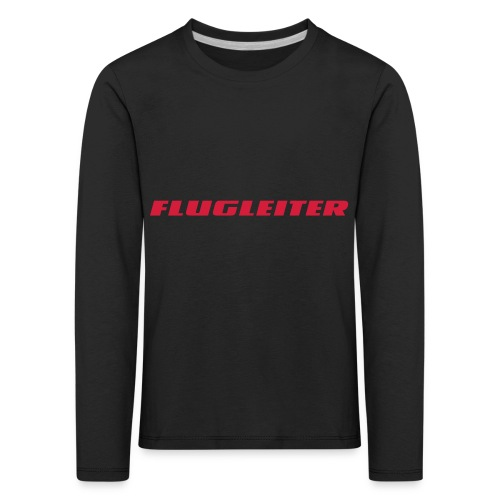 flugleiter - Kinder Premium Langarmshirt