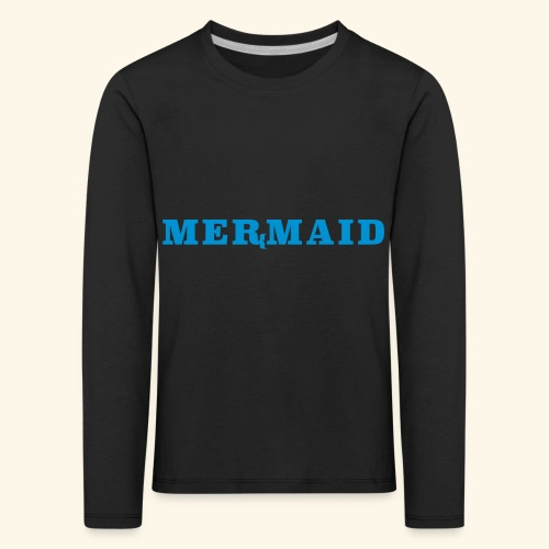 Mermaid logo - Långärmad premium-T-shirt barn