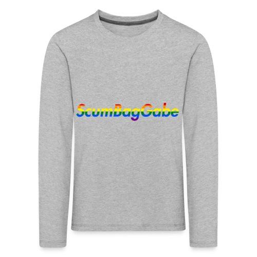 ScumBagGabe Multi Logo XL - Kids' Premium Longsleeve Shirt