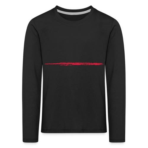 Linie_01 - Kinder Premium Langarmshirt