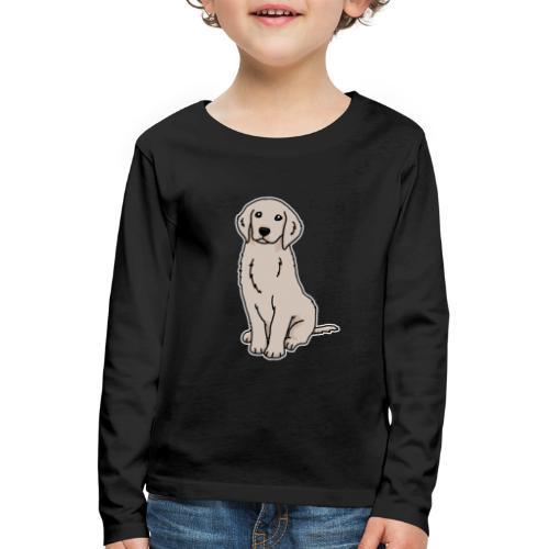 Golden Retriever, Hund, Hunderasse, Geschenk, Tier - Kinder Premium Langarmshirt