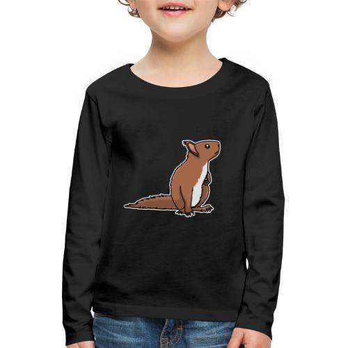 Eichhörnchen, Nagetier, Tier, süß, Geschenkidee - Kinder Premium Langarmshirt