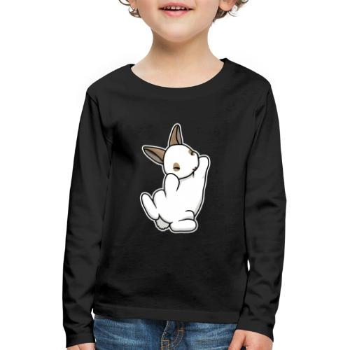 Zwergkaninchen, Comic - Kinder Premium Langarmshirt