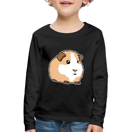 Meerschweinchen, Hausmeerschweinchen, Tier, kawaii - Kinder Premium Langarmshirt