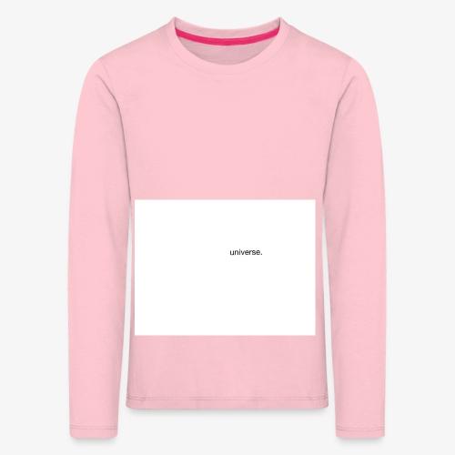 UNIVERSE BRAND SPONSOR - Maglietta Premium a manica lunga per bambini