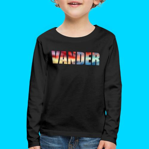 Vander Colorful - Kids' Premium Longsleeve Shirt