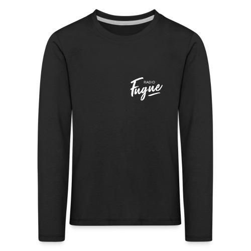 Radio Fugue Blanc - T-shirt manches longues Premium Enfant