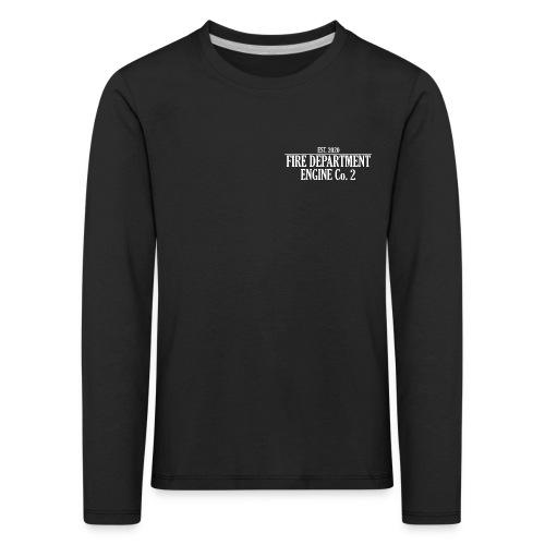 ENGINE Co 2 - Børne premium T-shirt med lange ærmer