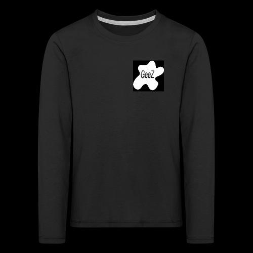 Black/white Art - Kids' Premium Longsleeve Shirt