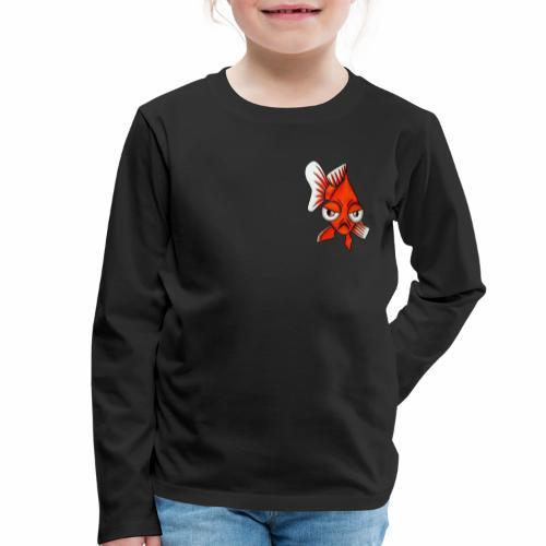 Boze vis - Kinderen Premium shirt met lange mouwen