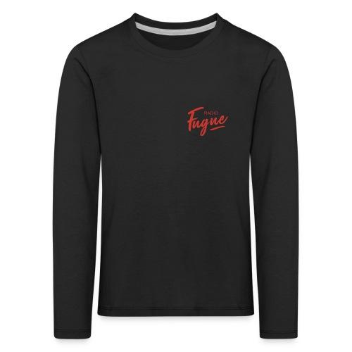 Radio Fugue Red - T-shirt manches longues Premium Enfant